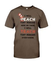 I WILL TEACH Classic T-Shirt thumbnail