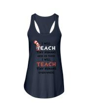 I WILL TEACH Ladies Flowy Tank thumbnail