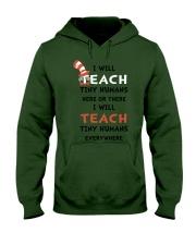 I WILL TEACH Hooded Sweatshirt thumbnail