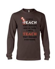 I WILL TEACH Long Sleeve Tee thumbnail