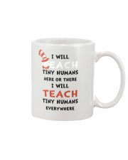 I WILL TEACH Mug thumbnail