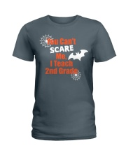 2ND GRADE SCARE SHIRT Ladies T-Shirt tile