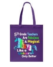 5TH TEACHERS Tote Bag thumbnail
