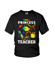 FORGET PRINCESS Youth T-Shirt front