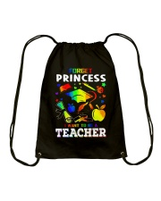 FORGET PRINCESS Drawstring Bag thumbnail