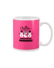 Chillin with my kindergarten snowmies Mug thumbnail