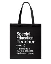 Special Education teacher - NOUN TEACHER T-SHIRT  Tote Bag thumbnail