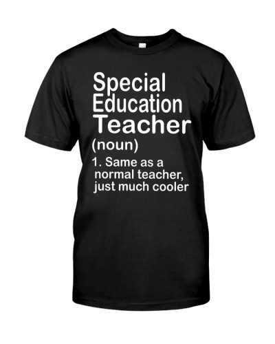 Special Education teacher - NOUN TEACHER T-SHIRT