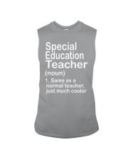 Special Education teacher - NOUN TEACHER T-SHIRT  Sleeveless Tee thumbnail