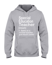 Special Education teacher - NOUN TEACHER T-SHIRT  Hooded Sweatshirt thumbnail
