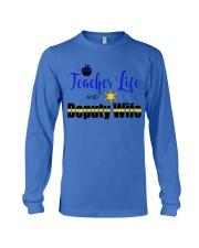 TEACHER LIFE AND DEPUTY WIFE Long Sleeve Tee thumbnail
