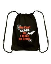 1ST GRADE SCARE SHIRT Drawstring Bag thumbnail