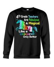 4TH TEACHERS Crewneck Sweatshirt thumbnail