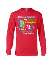 4TH TEACHERS Long Sleeve Tee thumbnail
