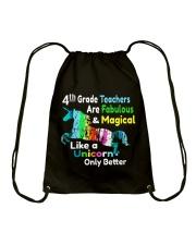 4TH TEACHERS Drawstring Bag thumbnail