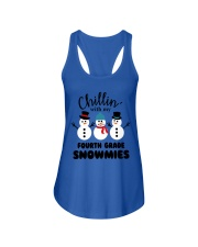 Chillin with my fourth grade snowmies Ladies Flowy Tank thumbnail