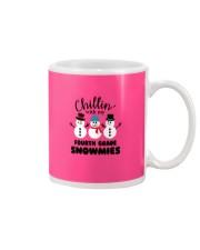 Chillin with my fourth grade snowmies Mug thumbnail
