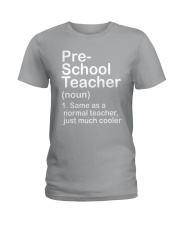 nganld pre-school - NOUN TEACHER T-SHIRT  Ladies T-Shirt thumbnail