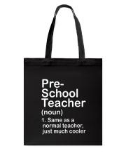 nganld pre-school - NOUN TEACHER T-SHIRT  Tote Bag thumbnail