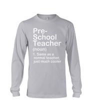 nganld pre-school - NOUN TEACHER T-SHIRT  Long Sleeve Tee thumbnail