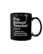 nganld pre-school - NOUN TEACHER T-SHIRT  Mug thumbnail