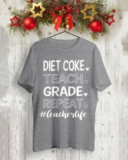 DIET COKE TEACH GRADE REPEAT Classic T-Shirt lifestyle-holiday-crewneck-front-2