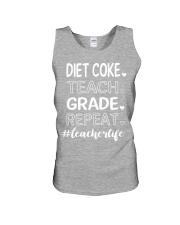 DIET COKE TEACH GRADE REPEAT Unisex Tank thumbnail
