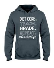 DIET COKE TEACH GRADE REPEAT Hooded Sweatshirt thumbnail
