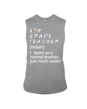 6TH GRADE TEACHER - NOUN TEACHER T-SHIRT  Sleeveless Tee thumbnail