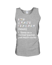 6TH GRADE TEACHER - NOUN TEACHER T-SHIRT  Unisex Tank thumbnail
