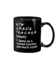 6TH GRADE TEACHER - NOUN TEACHER T-SHIRT  Mug thumbnail