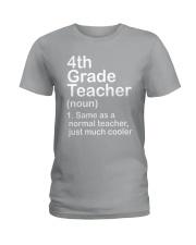 nganld 4th grade - NOUN TEACHER T-SHIRT  Ladies T-Shirt thumbnail