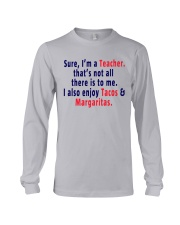 SURE I AM A TEACHER Long Sleeve Tee thumbnail
