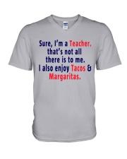 SURE I AM A TEACHER V-Neck T-Shirt thumbnail