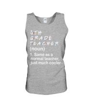 5TH GRADE TEACHER - NOUN TEACHER T-SHIRT  Unisex Tank thumbnail