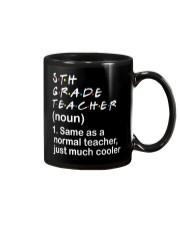 5TH GRADE TEACHER - NOUN TEACHER T-SHIRT  Mug thumbnail