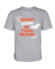 6TH GRADE SCARE SHIRT V-Neck T-Shirt thumbnail