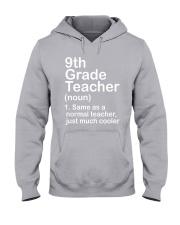 nganld 9th grade - NOUN TEACHER T-SHIRT  Hooded Sweatshirt thumbnail