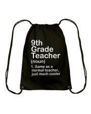 nganld 9th grade - NOUN TEACHER T-SHIRT  Drawstring Bag thumbnail