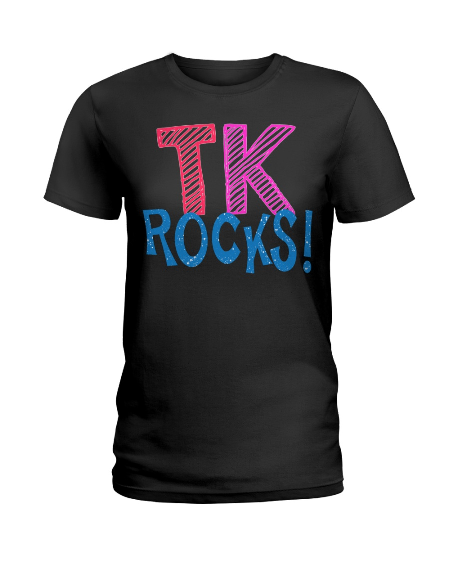 TK ROCKS Ladies T-Shirt