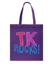 TK ROCKS Tote Bag thumbnail