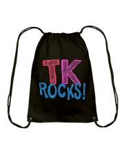 TK ROCKS Drawstring Bag thumbnail