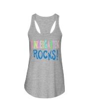 KINDERGARTEN-ROCKS Ladies Flowy Tank thumbnail