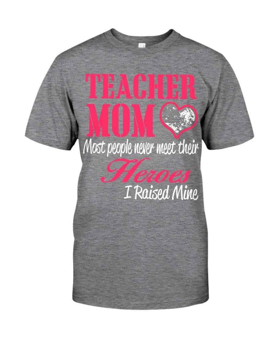 TEACHER MOM HERO Classic T-Shirt