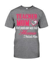 TEACHER MOM HERO Classic T-Shirt front