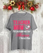 TEACHER MOM HERO Classic T-Shirt lifestyle-holiday-crewneck-front-2
