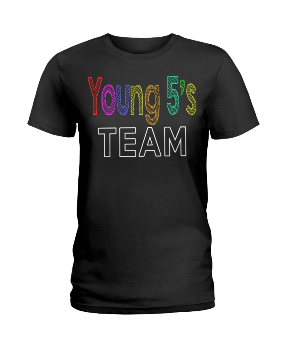 YOUNG 5-S Ladies T-Shirt