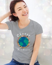 CHOOSE KINDNESS Ladies T-Shirt lifestyle-holiday-womenscrewneck-front-1