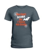 4TH GRADE SCARE SHIRT Ladies T-Shirt tile