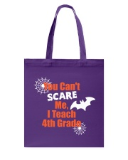 4TH GRADE SCARE SHIRT Tote Bag thumbnail